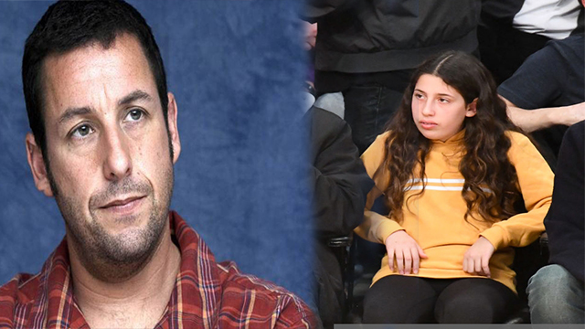 Adam Sandler Being All Protective for his Daughter