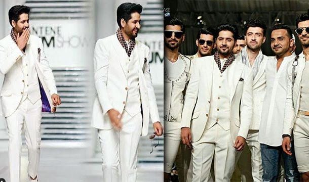 Fans Got Crazy As Imran Ashraf Walks The Ramp For The First Time