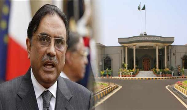 Disqualification Case: IHC Seeks Zardari's Response Within Two Weeks