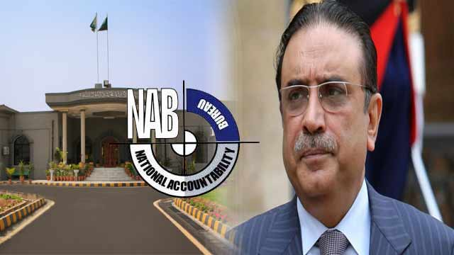 NAB Moves IHC For Cancellation of Zardari's Bail