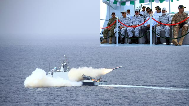Pakistan Successfully Tests Fires Indigenous Cruise Missile