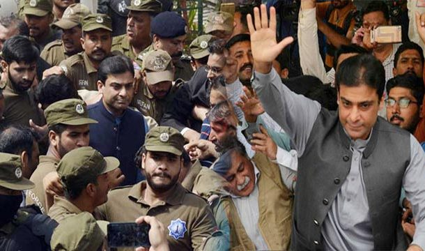 Hamza Shahbaz Appears Before Court Amid Tight Security