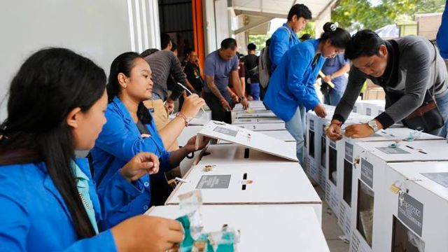 Indonesia:  Voting Underway In world's Biggest One-Day Election