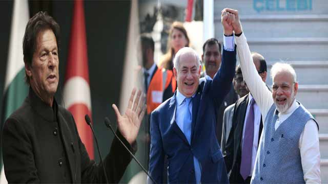 PM Imran Lashes Out at India, Israel leaders Over 'Moral Bankruptcy'