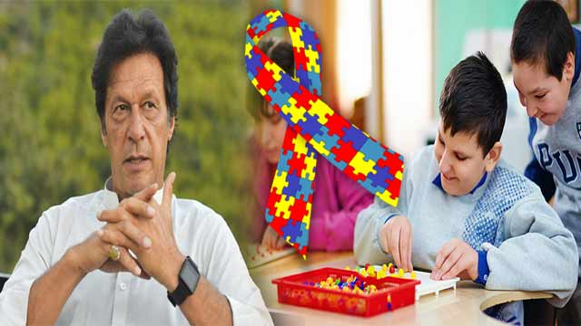 PM Imran Ensures Welfare of Persons With Autism