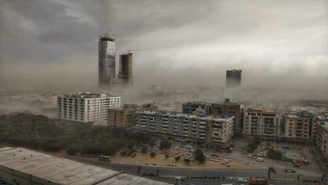 Karachi: Three Killed, Multiple Injured in Dust Storm