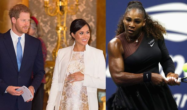 Did Serena Williams Accidentally Revealed Meghan Markle and Prince Harry's Baby's Gender?
