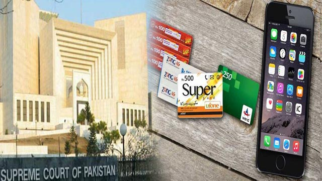 SC Restores Taxes on Mobile Phone Cards