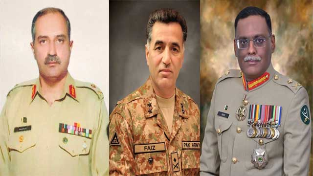 Four Major Generals Promoted to Higher Rank