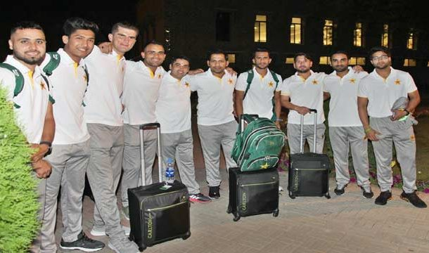 Pakistan Cricket Team Leaves for London
