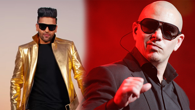 Pitbull's New Song In Collaboration With Guru Randhawa Will Be Released Next Week