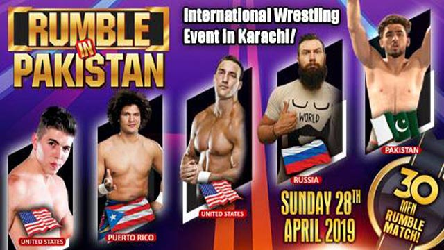 Get Ready for First Rumble in Pakistan 2019