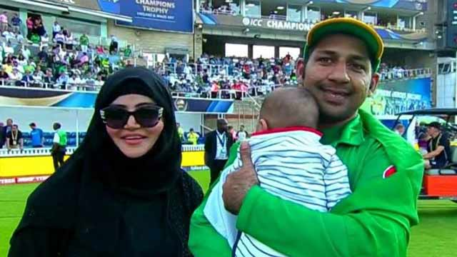 Have You Seen Adorable Viral video of Sarfaraz's Son