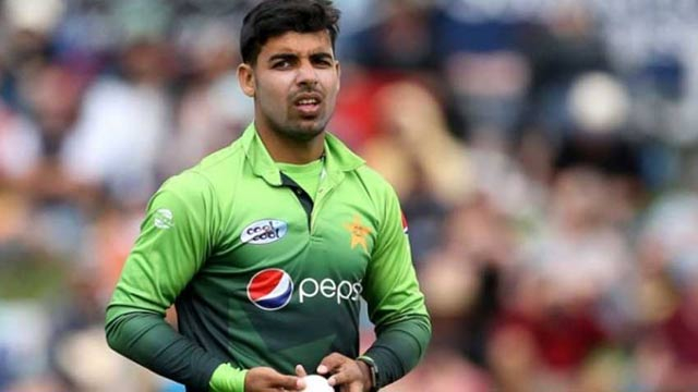 Spinner Shadab Khan Ruled Out of Series Against England