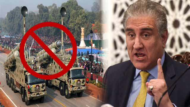 Pakistan Never Support Arms Race in Region: FM Qureshi