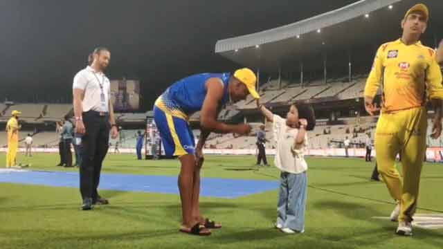 Ziva Dhoni's Viral Video Winning Hearts of CSK Fans