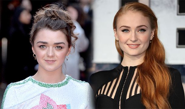 Sophie Turner Wishes Maisie Williams on Her Scene of Killing The Night King in Game of Thrones