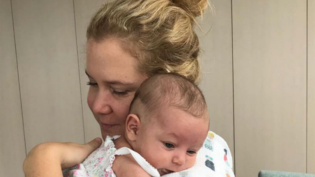 Amy Schumer Welcomes Her Baby Boy