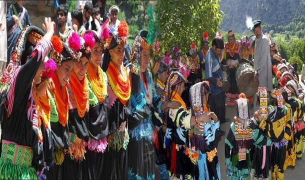 Tourist Flock to Kalash Valley for 'Chilam Jusht Festival'