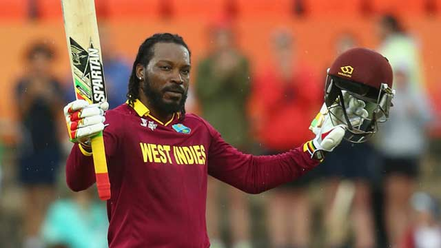 World Cup: Gayle Named West Indies Vice-Captain