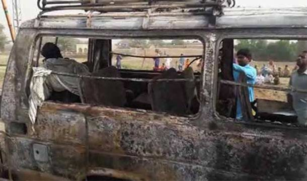 Kashmore: Van Cylinder Blast Leaves Five Dead, Several Injured