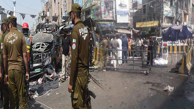 Death Toll in Blast Outside 'Data Darbar' Rises to 10