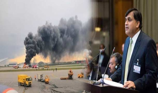 Russian Plane Fire: Pakistan Expressed Condolences Over Loss of Lives