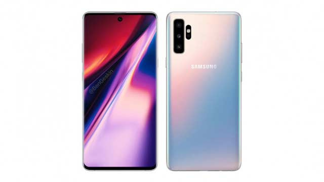 Final Design of Samsung Galaxy Note 10 Leaked Before Launch