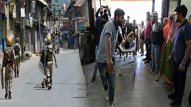 IOK: 90 Kashmiris Injured in Indian Troops' Brutalities