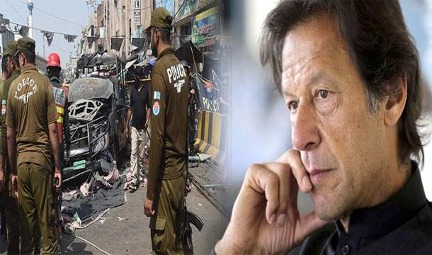 PM Imran Condemns 'Data Darbar' Blast, Seeks Report