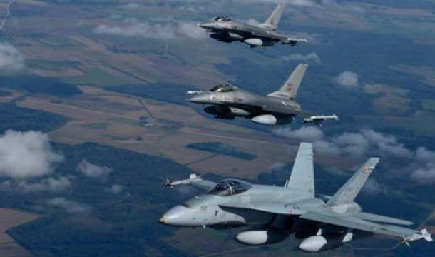 Indian Fighter Jets Violate Indian Airspace