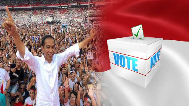 Indonesia's President Claims Victory For Second Term