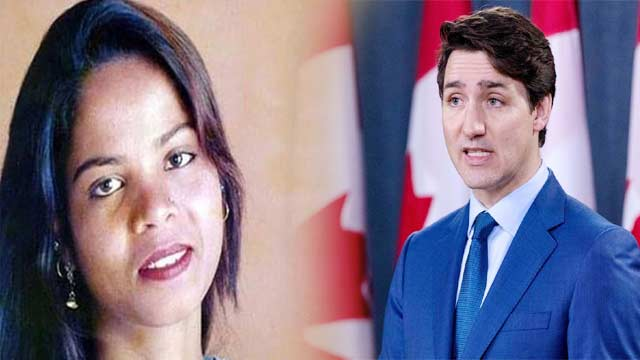 Canadian PM Refuses to Confirm Asia Bibi's Presence