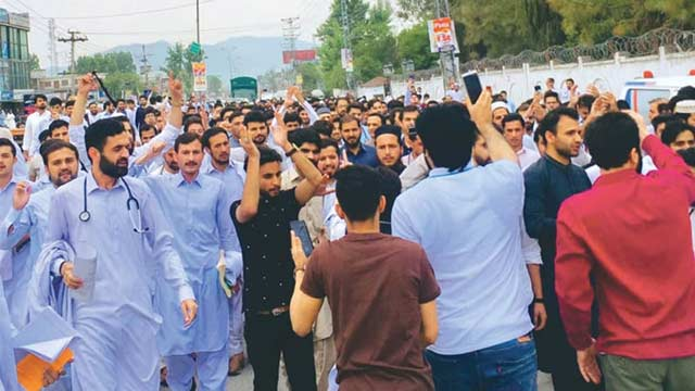 KP Doctors Call Off Strike For Two Days