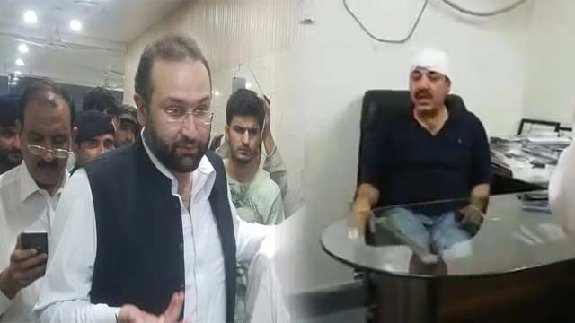 Doctors Protest After KP Health Minister Tortured Assistant Professor