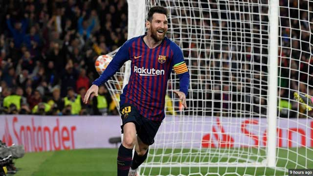 Messi's Magical Goal Kicks Liverpool Out From Champions League