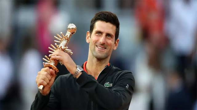Djokovic Wins Third Madrid Title and 33rd Masters
