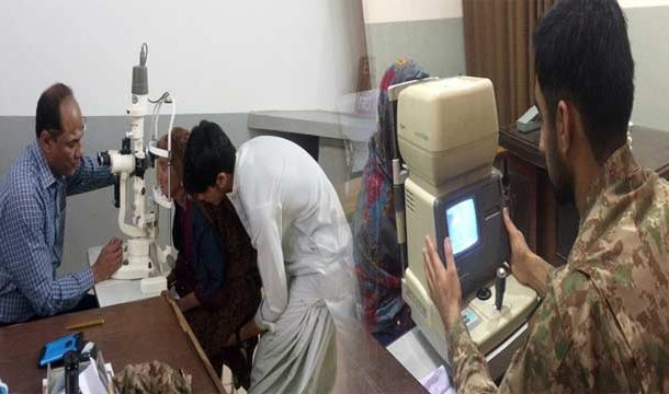 Pakistan Army Provides Free Medical Care to Over 3,500 Patients