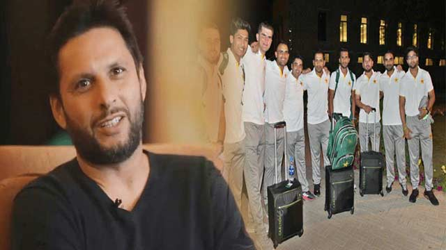 Here's What Afridi Advises to Pakistan's WC Squad