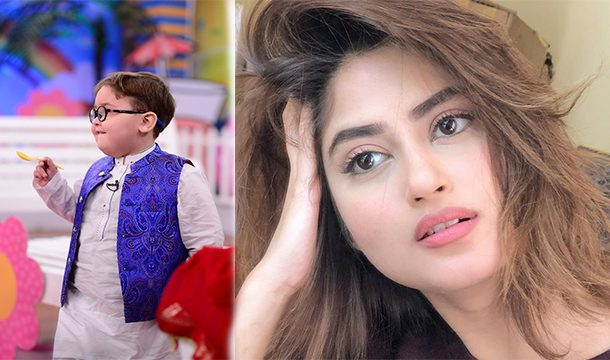 Sajal Aly Shows her Anger Over Media For Exploiting Ahmed Shah