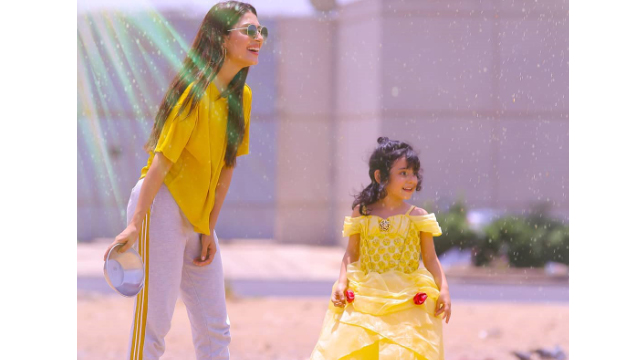 Ayeza Khan and Danish Taimoor Celebrate their Daughter, Hoorain's 4th Birthday Party