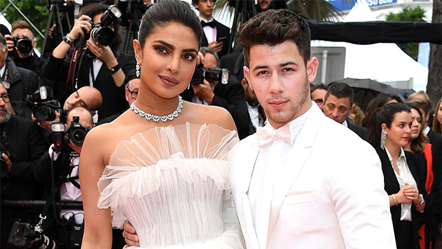 Priyanka Chopra and Nick Jonas Look Like They're Getting Married Again With Their Matching White Attires at the Cannes'19