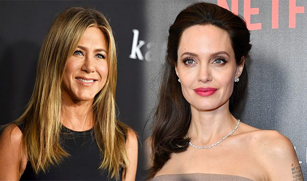 Jennifer Aniston Faced Angelina Jolie at the Golden Globes