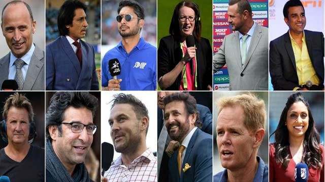 2 Pakistani Among ICC WC Commentators' Panel