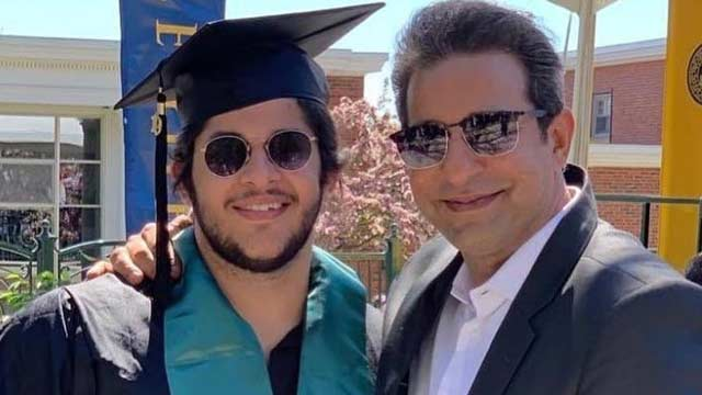 Wasim, Shaniera Celebrate Son's Graduation