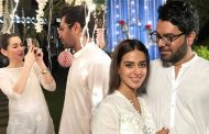 Things Got Awkward Between Asim Azhar And Hania Amir With Iqra Aziz And Yasir Hussain At Nomi Ansari's Iftar Party