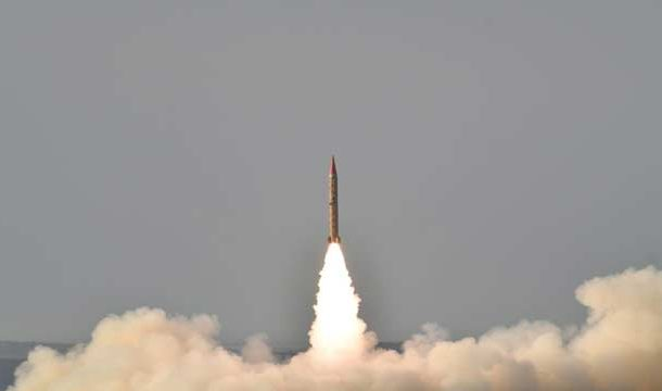 Pakistan Conducts Successful Training Launch of Ballistic Missile