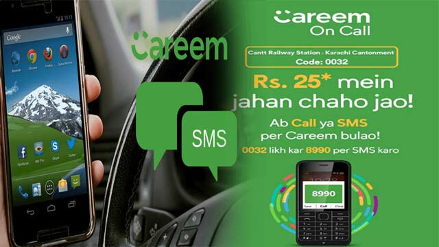 Book Your Careem Ride Without Internet