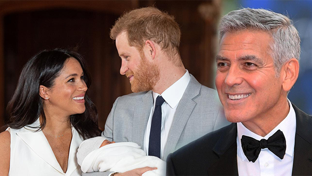 George Clooney Teased the Royal Couple for 'Stealing His Thunder'