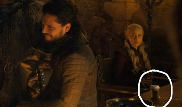 Did you too Spot A Starbucks Cups in the Middle of the Game of Thrones episode 4?